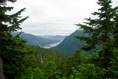 Juneau Alaska Mountain View Stock Photos