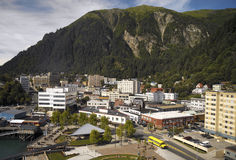 Juneau in Alaska - USA. City of Juneau in Alaska in the USA Royalty Free Stock Photos