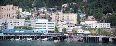Juneau Downtown Panorama Royalty Free Stock Image