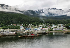 Juneau Harbor Royalty Free Stock Photos