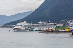 Juneau Harbor Royalty Free Stock Image