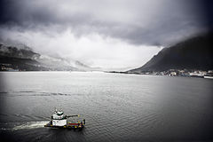 Juneau harborferry Stock Photos