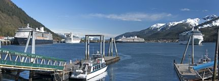 Juneau Port Stock Photography