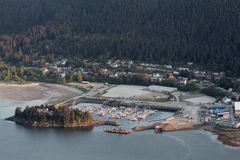 Juneau's Harbor Royalty Free Stock Images