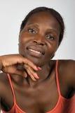 Junge afrikanische Frau Stockfotografie