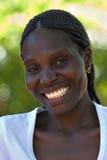 Junge afrikanische Frau Stockfoto