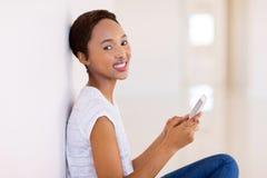 Junge afroe-amerikanisch Frau stockbilder