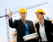 Junge Architekten Lizenzfreie Stockfotos
