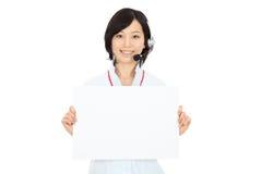 Junge asiatische Bediener stockfotos