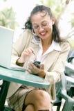 Junge asiatische Geschäftsfrau Lizenzfreie Stockbilder