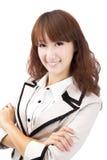 Junge asiatische Geschäftsfrau Stockbilder