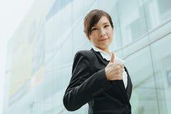 Junge asiatische Geschäftsfrau Lizenzfreies Stockbild