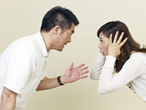Junge asiatische Paare Lizenzfreie Stockbilder