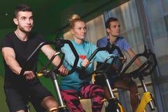 Junge Athleten in der Sportkleidung lizenzfreie stockfotografie