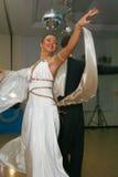 Junge Athletentänzer des Tanzes tragen Vereinigung von St Petersburg zur Schau Lizenzfreies Stockfoto