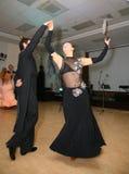 Junge Athletentänzer des Tanzes tragen Vereinigung von St Petersburg zur Schau Lizenzfreie Stockfotografie