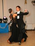 Junge Athletentänzer des Tanzes tragen Vereinigung von St Petersburg zur Schau Stockfotos