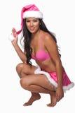 Junge attraktive asiatisch-pazifische Inselbewohnerfrau lizenzfreies stockfoto