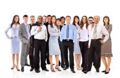 Junge attraktive Geschäftsleute lizenzfreies stockbild