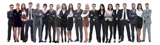 Junge attraktive Geschäftsleute - das Auslesegeschäftsteam stockbild