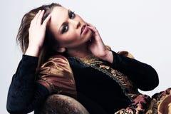 Junge attraktive Renaissancefrau Lizenzfreie Stockfotos