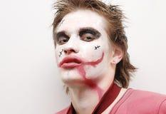 Junge bei Halloween Stockfotos
