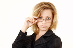 Junge Berufsfrau lizenzfreie stockfotografie