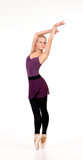 Junge blonde Ballerina Lizenzfreie Stockbilder
