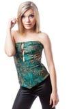 Junge blonde Frau Lizenzfreies Stockbild