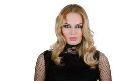 Junge blonde Frau der Schönheit Lizenzfreies Stockbild