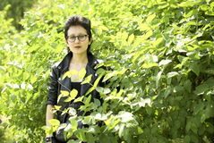 Junge Dame Lizenzfreies Stockfoto