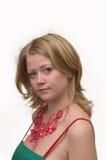 Junge Dame Stockfoto