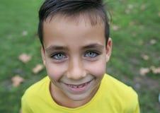 Junge der grünen Augen Lizenzfreie Stockfotos