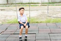 Junge in der Uniform Lizenzfreie Stockfotos