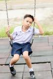 Junge in der Uniform Stockbilder