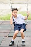 Junge in der Uniform Lizenzfreie Stockfotografie