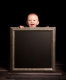 Junge des fünfmonatigen Babys Lizenzfreies Stockbild