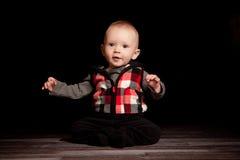 Junge des fünfmonatigen Babys Lizenzfreie Stockfotografie