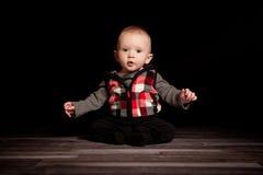 Junge des fünfmonatigen Babys Lizenzfreie Stockfotos