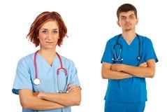 Junge Doktoren Stockbilder