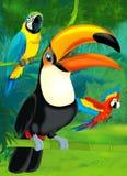 Junge dos desenhos animados - ilustração para as crianças Foto de Stock