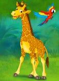 Junge dos desenhos animados - ilustração para as crianças Imagens de Stock