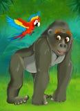 Junge dos desenhos animados - ilustração para as crianças Fotografia de Stock