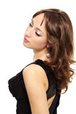 Junge Eleganzfrau Stockfoto