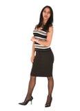 Junge erwachsene Geschäftsfrau Stockbild