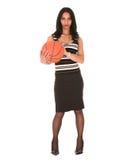 Junge erwachsene Geschäftsfrau Lizenzfreies Stockfoto
