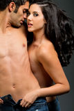 Junge ethnische Paare Lizenzfreies Stockfoto