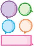 Junge färben Sprache-Platz Lizenzfreies Stockbild