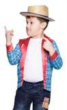 Junge für Juni-Festival Stockfotos
