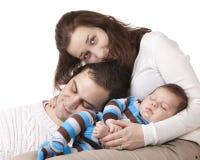 Junge Familie Stockfotos